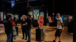 INSPIRASJON: Proppfull av franske inntrykk kommer tromøykunstner Anne Bulien tilbake med separatutstilling i Arendal kommende helg. Foto: Privat