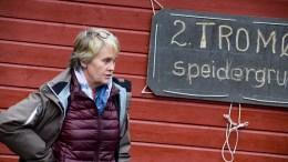 ALLTID BEREDT: Speidernes representant i rettssalen, Dora Lien Olsen, er lettet over at speiderne fortsatt har bruksrett til speiderhytta på Næsland i Alvekilen. Arkivfoto