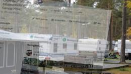 TAR AV: En «opprørsgruppe» mot planene for Hove Canvas trekker til seg støttemedlemmer i hoptall. Foto: Esben Holm Eskelund/Montasje