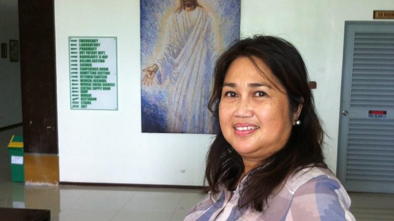 BESØKER TROMØY: Doktor Marlisa Calma leder Mama's-sykehuset på Filippinene. Nå kommer hun til Tromøy menighet. Pressefoto