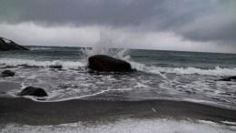 SPORNESSTRANDA: Magisk strand som får sand når den finner det for godt. Foto: Esben Holm Eskelund
