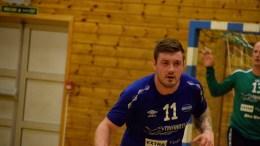 TOPPSCORER: Marius Frydenlund Halvorsen satte inn aller flest mål i bortekampen mot Våg i Kristiansand. Arkivfoto