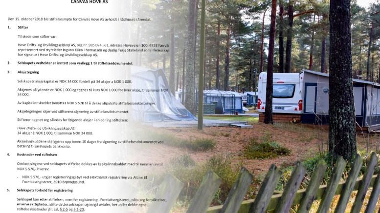 STIFTET SELSKAP: Det nye selskapet skal foreta en emisjon for å få inn Low Camp AS på eiersiden. Montasje/Lokalavisen Geita