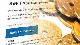 SKATTELISTENE: Offentlig tilgang er med på å skape åpenhet om hva innbyggerne bidrar med til fellesskapet. Foto: Esben Holm Eskelund/flickr.com/KaVass/Montasje