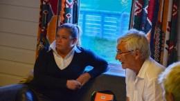 STILLER TIL VALG: Tanja Javnes Sandåker og Tor Jakobsen fra Tromøy Arbeiderlag står på Arbeiderpartiets liste til lokalvalget i Arendal. Arkivfoto