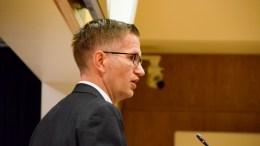 CANVAS HOVE: Ordfører Robert C. Nordli (Ap) mener drift og utvikling av Hove er godt organisert gjennom å være et aksjeselskap. Foto: Esben Holm Eskelund