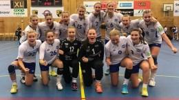 NORDEN CUP: Finalen glapp for Trauma Håndballs J16-lag, som deltok i Norden Cup i Göteborg i romjulen. Foto: Trauma Håndball