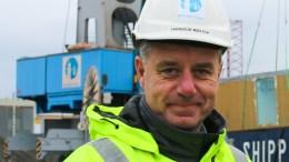 REKORDÅR: Havnesjef Rune Hvass i Arendal Havn KF melder om rekordår. Nå ønsker han en vurdering om kommunalt foretak (KF) er den riktige organisasjonsformen for havnevirksomheten. Arkivfoto: Esben Holm Eskelund