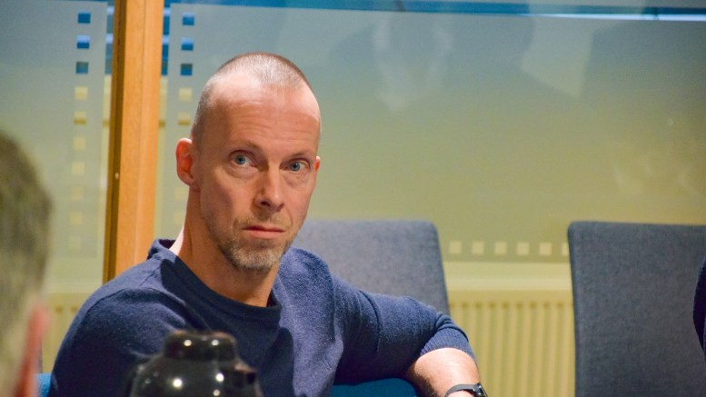 KUNSTKOMITÉ: Pål Koren Pedersen (V) skal lede komitéen for utsmykning av nye Roligheden skole. Arkivfoto