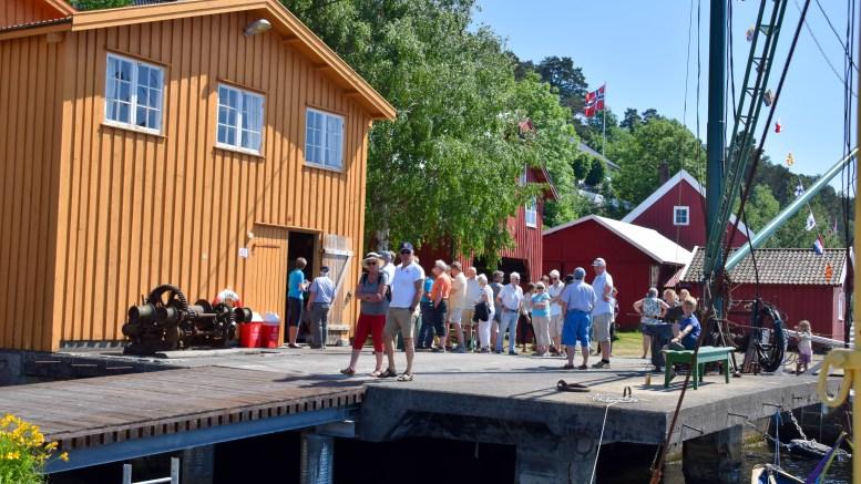 BRATTEKLEV SKIPSVERFT: Tromøys ferske museum får ferjeanløp. Arkivfoto