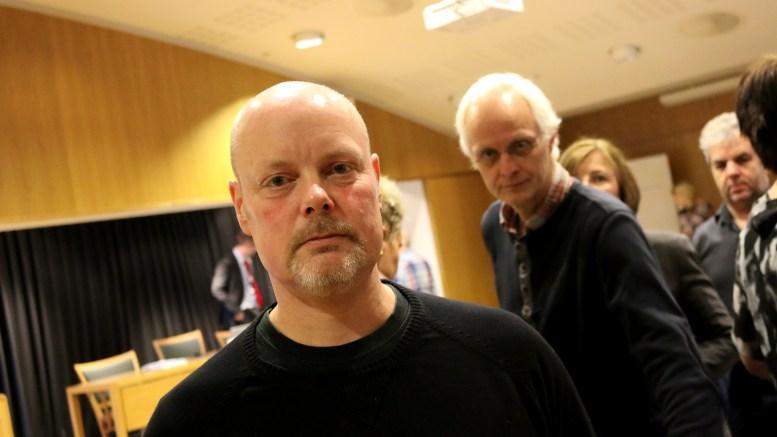 MISTILLIT:Einar Krafft Myhren og Rune Sævre i Sosialistisk Venstreparti vil fremme mistillit mot styret av Hove drifts- og utviklingsselskap AS. Arkivfoto: Esben Holm Eskelund