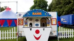 HOVE-SOGA: Sirkus-Hove kan ta ned teltet, ettersom et annet sirkus kommer. Illustrasjonsfoto: Colourbox