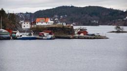 SKILSØY: Ligger i dag som det vestligste punktet av Tromøy. Foto: Esben Holm Eskelund