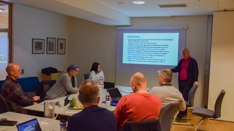 BOLIGPRISER: UiA-professor Theis Teisen har sett på boligprisutviklingen etter bopliktens fall. Foto: Esben Holm Eskelund