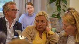 SETTE KRAV: Høyres Benedikte Nilsen mener det må settes krav til pårørende som får sine nære plassert på syke- og omsorgshjem. Foto: Esben Holm Eskelund