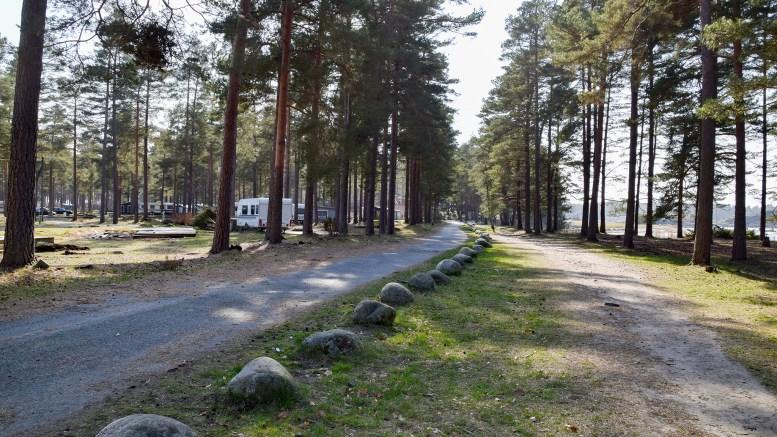 NYTT UTTRYKK: Bekreftelsen av Canvas Hove var knapt blitt en dag gammelt før gjerdene rundt tidligere Hove Camping ble fjernet. Foto: Esben Holm Eskelund