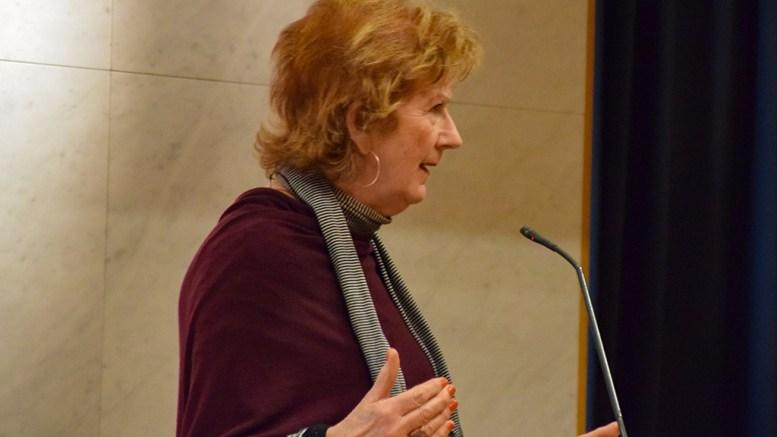 FASTLEGEKRISE: Frps Ingrid Skårmo ba ordføreren redegjøre for situasjonen med fastleger i Arendal kommune. Foto: Esben Holm Eskelund