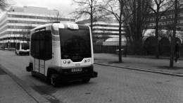 FØRERLØSE BUSSER: Arendal Arbeiderparti vil ha pilotprosjekt både på Tromøy og Hisøy rundt førerløse busser. Foto: Per-Olof Forsberg/Flickr.com