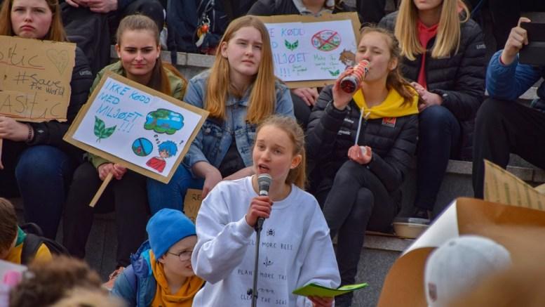 HOVEDTALER: Maja Trommestad (15) er valgt ut av 17.mai-komitéen til å være hovedtaler i Arendal på nasjonaldagen. Arkivfoto