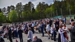 17. MAI PÅ SANDNES: Bildeglimt fra feiringen på Kongshavn og Sandnes skole. Foto: Esben Holm Eskelund