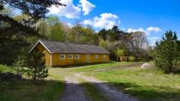 TØNNEREI: Et lite boligområde ved Brekka utgjør Tønnerei i dag. Foto: Esben Holm Eskelund