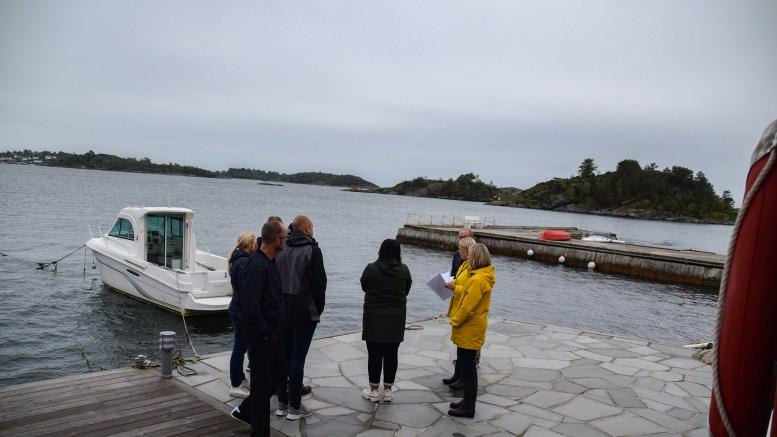 PIR OG BÅTHEIS: Østaværet skal være utfordringen på Marstrand, der politikerne gir støtte til Hans Andreas Hansen som søker om å få bygge ut brygga med pir og sette opp båtheis. Foto: Esben Holm Eskelund