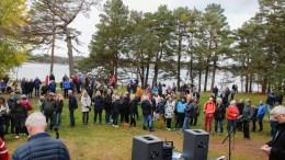 BEVAR HOVEODDEN: Arendal kommune har fått frist til å svare på klage til ESA fra aksjonsgruppen Bevar Hoveodden. Arkivfoto: Esben Holm Eskelund