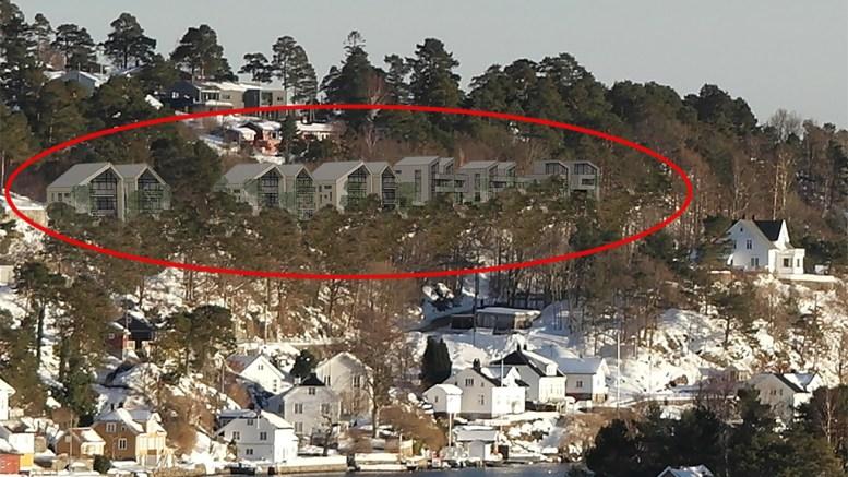 UTBYGGINGSPROSJEKT: Skissene for hvordan Brattekleiv Utsikt kan bli seende ut er klare. sammen med et forslag til detaljreguleringsplan. Illustrasjon: Rambøll Arkitekter Arendal