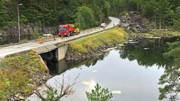 STENGER: Statens vegvesen varsler stenging for båttrafikk i Ubekilen. Foto: Statens vegvesen