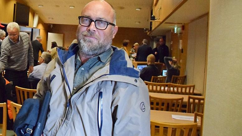 BLIR UTVALGSMEDLEM: Tomm Wilgaard Christiansen (Hovelista) skal møte fast i kommuneplanutvalget, som skal behandle reguleringsplanforslaget for Hove når det foreligger. Foto: Esben Holm Eskelund