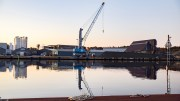 HAVNESTØY: Støyklager fra Åmdalsøyra skal opp til styrebehandling i Arendal havn KF. Foto: Esben Holm Eskelund