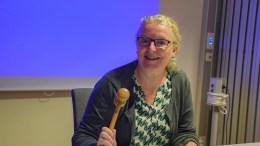 MEKTIG: Tromøy-politiker Milly Olimstad Grundesen (Sp) sikrer seg enda mer innflytelse i Arendal. Foto: Esben Holm Eskelund
