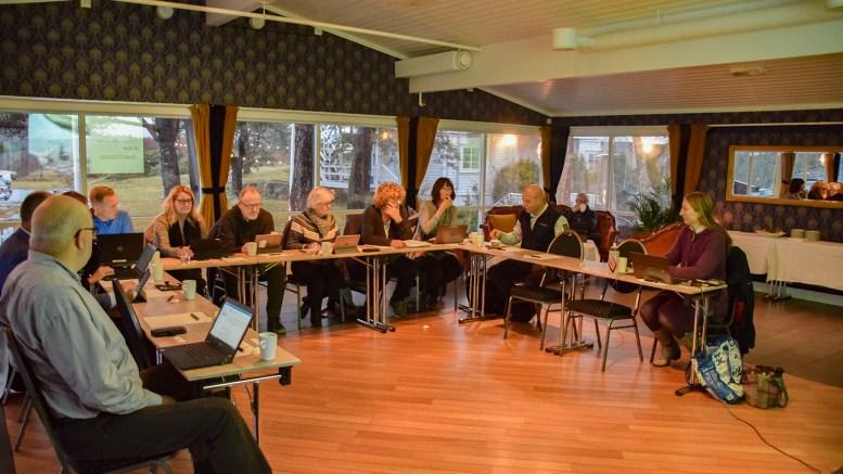 RAET NASJONALPARKSTYRE: Styret avholdt sitt siste møte for året på Arendal Herregaard på Tromøy. Foto: Esben Holm Eskelund