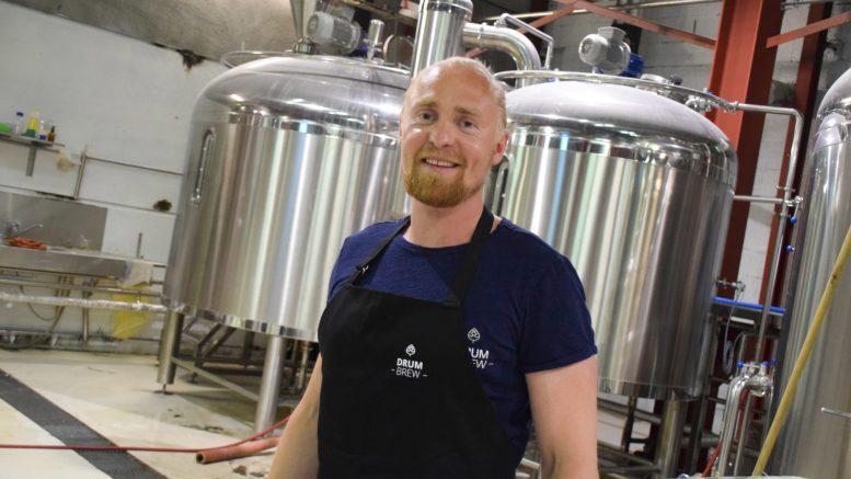 FRANSK STRID: Erlend Årsbog og hans selskap Drum Brew fikk krav fra fransk vinprodusent om å slutte å bruke geite-logoen. Arkivfoto