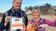 HEDERLIG OMTALE: Spornesfestivalen med Mari Dale og Tom Rudi Torjussen får hederlig omtale av bransjeforeningen for markedsføring i Aust-Agder. Foto: Privat