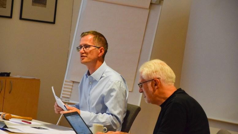 FÅR FULLMAKT: Bystyret skal utføres av formannskapet og arendalsordfører Robert C. Nordli (Ap) får fullmakt i hastesaker knyttet til håndteringen av koronautbruddet. Arkivfoto