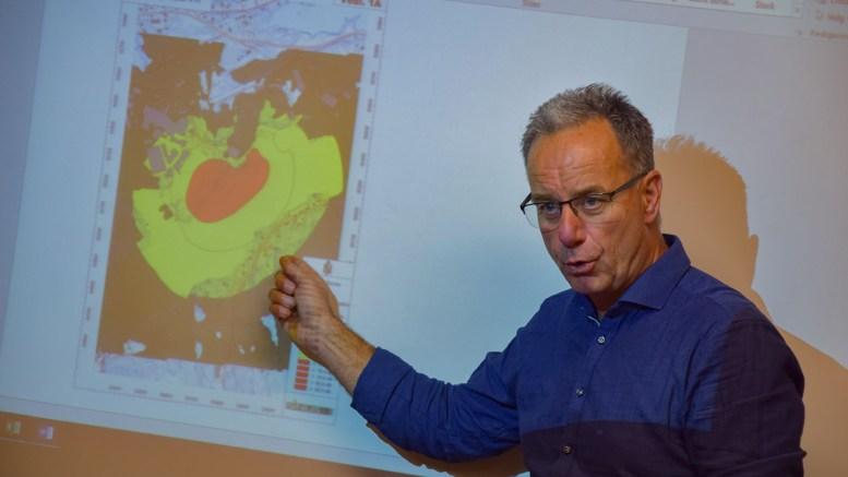 KORONABIDRAG: Havnesjef Rune Hvass opplyser at havna har gitt bort smittevernutstyr. Arkivfoto