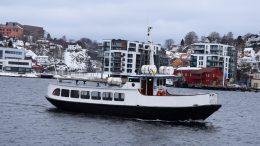 SKILSØFERGA: Ferjetilbudet både til Tromøy og Hisøy reduseres, for å begrense smittespredning. Arkivfoto