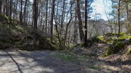 FOSSEKLEIV: Bekk det meste av året, men kan oppleves som en av få fosser på Tromøy. Foto: Esben Holm Eskelund