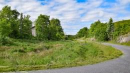SKARETUN: Langs Skareveien kan det dukket opp et eneboligfelt. Foto: Esben Holm Eskelund
