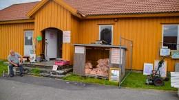 BRUKTMARKED: Jostein Andersens bruktbutikk er på plass på Hove i år igjen. Foto: Esben Holm Eskelund