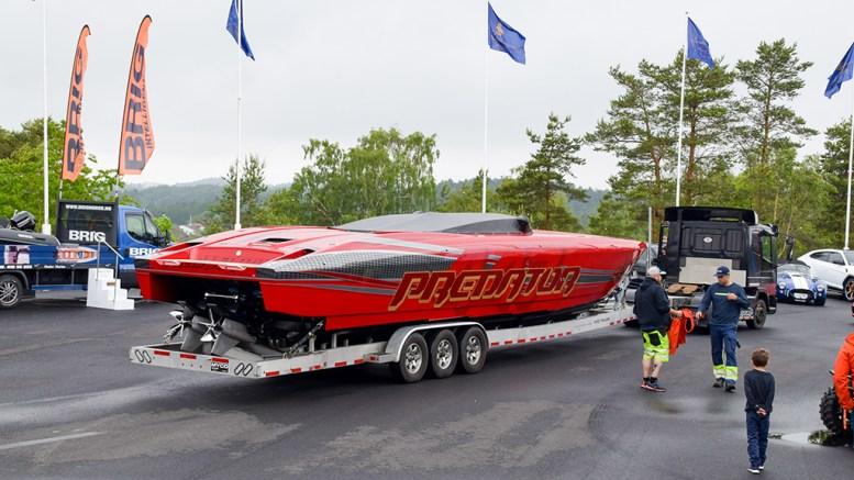 FART I OMSETNINGEN: Båtprodusenten Predator Boats på Tromøy økte omsetningen i 2019. Arkivfoto / Esben Holm Eskelund
