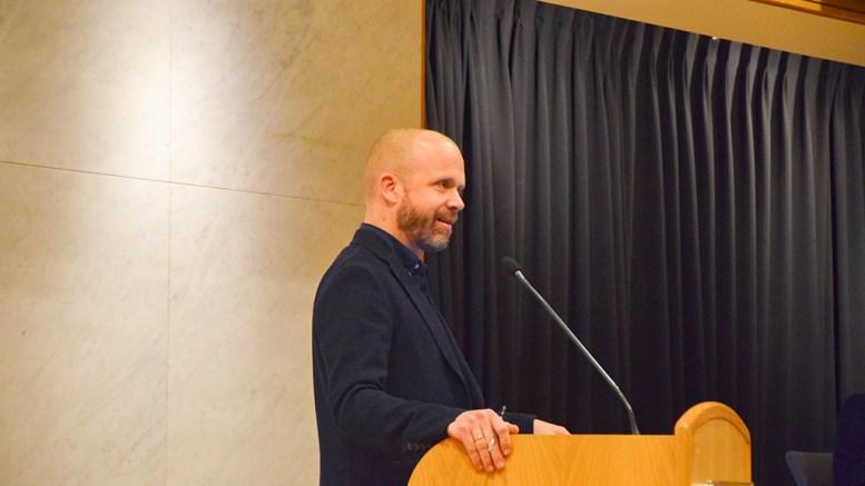 MERDØ-ANLØP: Høyres Kristoffer Lyngvi-Østerhus mener en offentlig ferjekai på Merdø bør ligge på Museumsbrygga. Arkivfoto