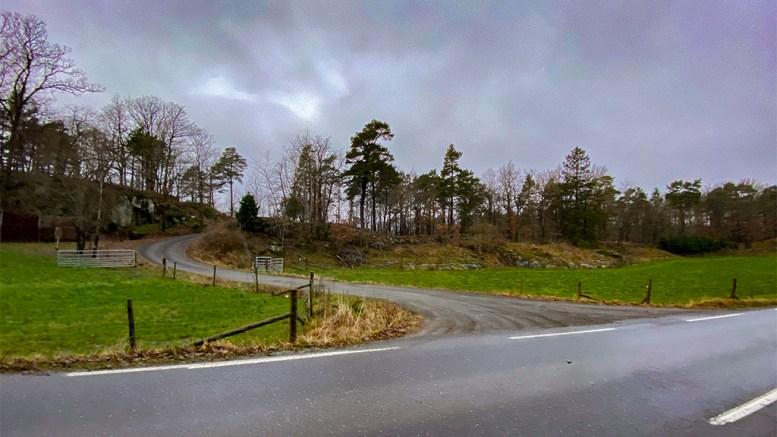 MALMVEIEN: Gammel, viktig ferdselsåre på Tromøy. Foto: Esben Holm Eskelund