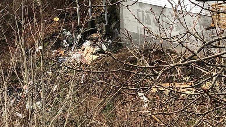 KREVER OPPRYDDING: En nabo ber kommunen ta affære i nabolaget på Brattekleiv for å få huseier til å fjerne avfall. Foto: Privat / Arendal kommune