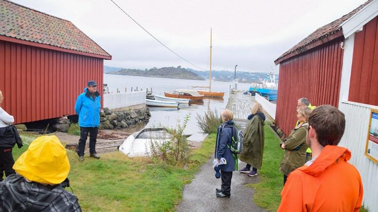 MERDØ-PLAN: Arendal kommune er i gang med å lage en områdeplan for Merdø. Der inngår forslag til endring av anløpssted for offentlig ferje. Arkivfoto