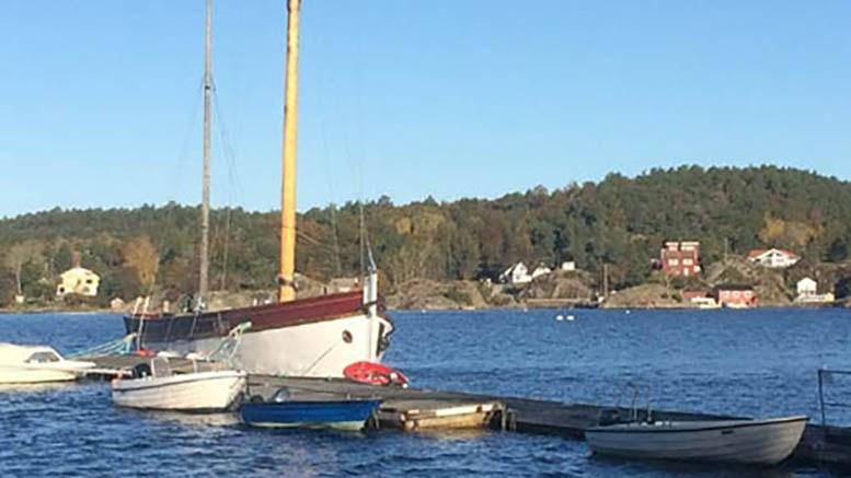 ETTERGODKJENNING: Arendal kommune har fått søknad om ettergodkjenning av ei flytebrygge som ble koblet på brygga ved Hove gård tidlig på 2000-tallet. Arkivfoto