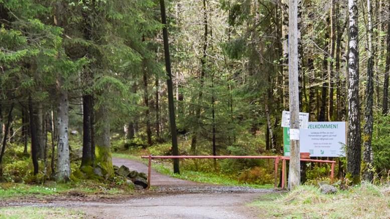 VEDLIKEHOLD: Tromøy Idrettslag søker kommunale midler for å få gjort sårt tiltrengt vedlikehold av lysløypa, som også brukes av kommunen i skolesammenheng. Foto: Esben Holm Eskelund