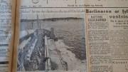 SANDSUGEREN HALVOR: Historien om sandopptaket i Hovekilen er ikke riktig lik den som styret i Raet nasjonalpark ble presentert for i styremøtet 5. mars. Foto: Alf M. Sandberg / faksimile Vestlandske Tidende