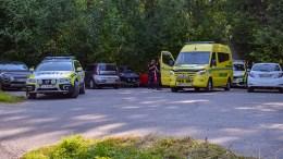 DRUKNINGSULYKKE: Livet til den eldre kvinnen sto ikke til å redde, etter en drukningsulykke i Bukkeviga mandag morgen. Foto: Esben Holm Eskelund